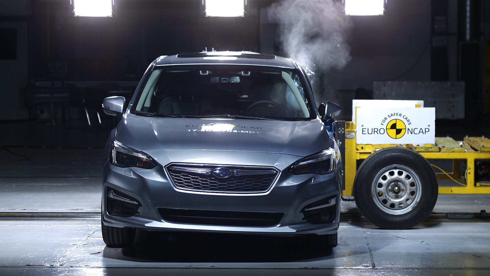 TWO TO THE TOP: THE ALL-NEW SUBARU XV AND IMPREZA ACHIEVE TOP EURO NCAP SAFETY ACCOLADES FOR 2017